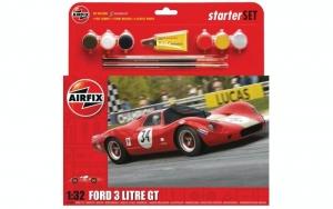 Airfix A55308 Zestaw startowy Ford 3 Litre GT z farbami