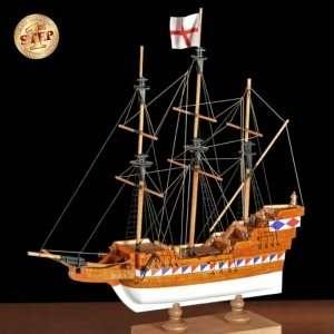 Amati 60002 Galeon Elizabethan - drewniany model w skali 1:135