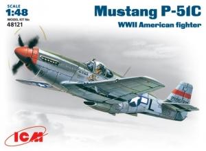 Amerykański myśliwiec Mustang P-51C ICM 48121