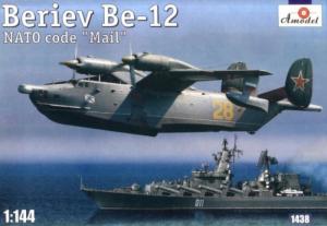 Amodel 1438 Samolot Beriev Be-12 NATO kod Mail