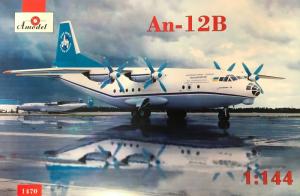 Amodel 1470 Samolot Antonov An-12B model 1-144 model 1-144