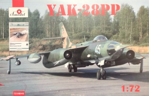 Amodel 72108-01 Samolot Jak-28PP model 1-72