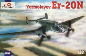 Amodel 72110 Samolot Ermolayew Er-20N skala 1-72