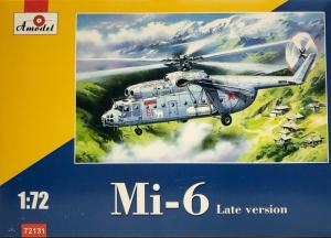 Amodel 72131 Śmigłowiec Mil Mi-6 model 1-72