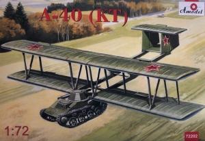 Amodel 72202 Szybowiec A-40 KT model 1-72