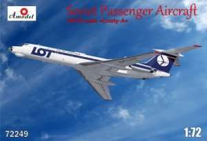 Amodel 72249 Soviet Passenger Aircraft Tu-134 - LOT