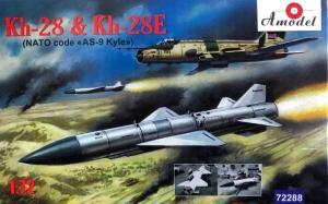 Amodel 72288 Pocisk Kh-28 i Kh-28E model 1-72