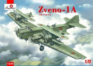 Amodel 72290 Tupolew TB-1 z I-5 projekt Zwieno 1A