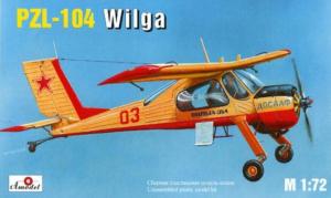 Amodel 7232 Samolot PZL 104 Wilga model 1-72