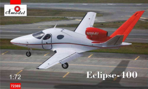 Amodel 72369 Samolot Eclipse-400 model 1-72