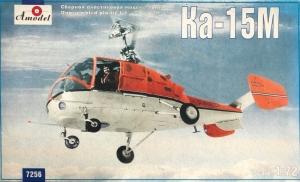 Amodel 7256 Helikopter Kamov Ka-15M skala 1-72