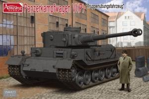 Amusing Hobby 35A023 Czołg Panzerkampfwagen VI (P) Truppenubungsfahrzeug
