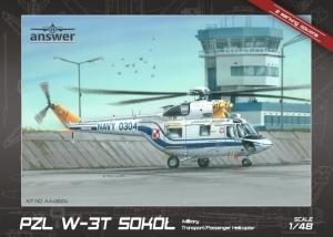 Answer AA48004 Śmigłowiec PZL W-3T Sokół polska kalkomania