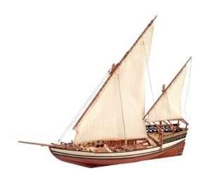 Arabski statek Sultan - Artesania 22165 - drewniany statek skala 1-85