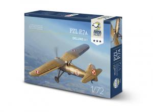 Arma Hobby 70005 Samolot PZL P.7A delux set 1-72