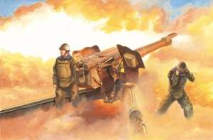 Armata polowa D-74 122mm do sklejania Trumpeter 02334