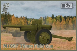 Armata polowa M1897 model 35058 skala 1-35