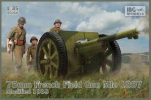 Armata polowa Mle 1897 model 35056 skala 1-35