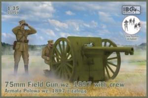 Armata polowa wz. 1897 z obsługą IBG 35059