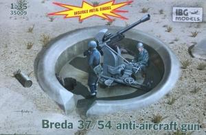 Armata przeciwlotnicza Breda 37/54 IBG 35009