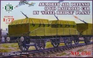 Armored Air Defense PVO Railroad Car - UMMT 616
