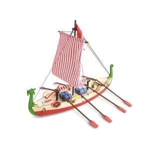 Artesania 30506 Zestaw dla dzieci - drewniany statek Viking