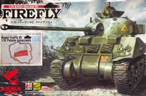 Asuka 35-009S-A Czołg Sherman VC Firefly polskie oznaczenia