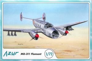 Azur A087 Samolot MD-311 Flamant model 1-72