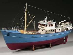 BB476 Trawler Nordkap - drewniany model w skali 1:50