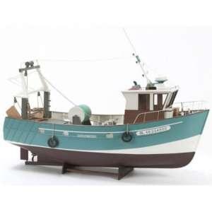 BB534 Trawler Boulogne Etaples - drewniany model w skali 1:20