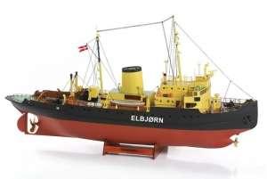 BB536 Lodołamacz Elbjorn - drewniany model w skali 1:75