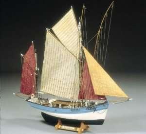 BB580 Marie Jeanne drewniana łódź rybacka
