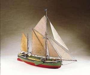 BB601 Will Everard drewniany model statku żaglowego
