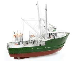BB608 Kuter rybacki Andrea Gail - drewniany model w skali 1:60