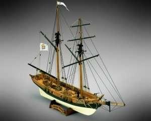Black Prince Mamoli MV46 drewniany model okrętu w skali 1-57