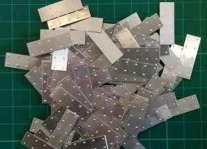 Blaszka aluminiowa 25x8mm - 100szt - Artesania 8838