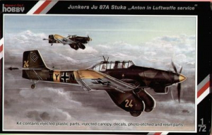 Bombowiec nurkujący Junkers Ju 87A Stuka Special Hobby 72136
