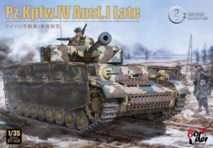 Border Model BT-008 Czołg Pz.Kpfw.IV Ausf.J ostatni
