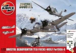 Bristol Beaufighter Mk.X Focke-Wulf Fw190-8 Airfix A50171
