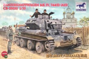 Bronco CB35030 Panzerkampfwagen Mk.IV 744(E) (A13)