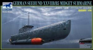 Bronco CB35053 Seehund XXVIIB/B5 Midget Submarine