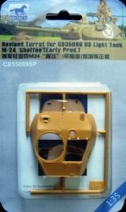 Bronco CB35069SP zmieniona wieżyczka do M24 Chaffee