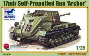 Bronco CB35074 17pdr Self-Propelled Gun Archer