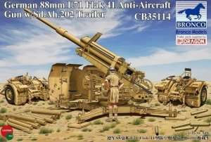 Bronco CB35114 88mm L71 Flak 41 Anti-Aircraft Gun