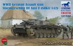Bronco CB35118 Assault Gun StuG. III Ausf. E