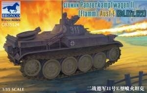Bronco CB35124 Panzerkampfwagen II Flamm Ausf.E Sd.Kfz.122