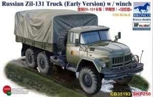 Bronco CB35193 Wojskowa ciężarówka Ził-131 z wyciągarką