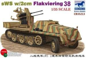Bronco CB35213 sWS z działem 2cm Flakviering 38