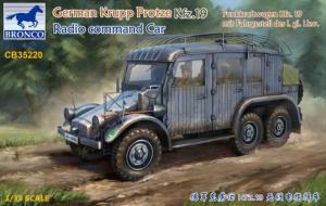 Bronco CB35220 Funkkraftwagen Kfz.19 samochód dowodzenia