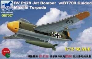 Bronco GB7007 Samolot Blohm & Voss P.178 z torpedą BT 700